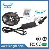 2017 3528 5050 tira direccionable flexible de Ww/Cw/Nw 12V/24V 30LED/60LED/120LED SMD RGB SMD LED, tira enumerada Ce/RoHS/UL/FCC del LED