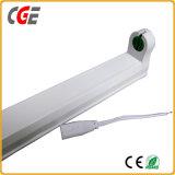 T5/T8 두 배 편들어진 60cm/90cm/120cm 2FT/3FT/4FT 통합 LED 관 빛