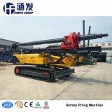 Plataforma de perfuração rotativa de Esteiras hidráulico, máquinas de construção (HF320)