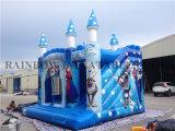 Castelo de salto inflável congelado do tema da venda direta da fábrica do arco-íris