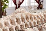 Wohnzimmer-Gewebe oder Leder-Taste hefteten sich Sofa gesetztes Y1512 durch