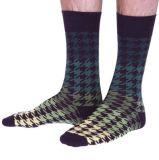 Новый дизайн моды на центральной улице основную часть оптовых Man хлопка трикотажные теплые носки экипажа