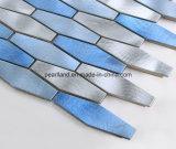 Mosaico de aluminio aplicado con brocha del metal de la tira del mosaico para Backspalsh