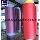 Hilado teñido droga del filamento de DTY 1000d/144f Polyetser