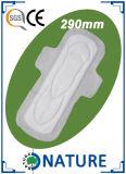 almofadas sanitárias macias do algodão regular de 240mm