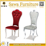 椅子を食事する現代家具製造販売業の灰色のステンレス鋼