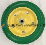 강철 변죽 (3.00-8/300-8)를 가진 다채로운 PU 양식 바퀴