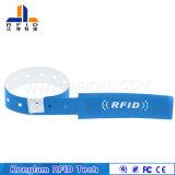 Divers bracelet universel de papier enduit d'IDENTIFICATION RF de puce pour la plage