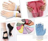Высокая силиконовый нескользким покрытием и поручнями 3D-машины литьевого формования для йоги носки