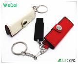 저가 (WY-L22)를 가진 새로운 지갑 모양 가죽 USB 플래시 디스크