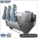 Equipo de tratamiento de aguas residuales químicas Desagüe de lodos de tornillo