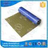 Couverture bleue de piscine de bulle de Landy