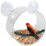 El mejor precio y buen alimentador redondo del pájaro de la ventana de Quanlity