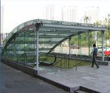 セリウムの証明書が付いている建物の家具のための緩和されたサンドイッチガラス