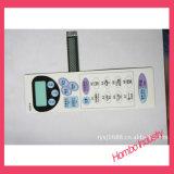 Interruptor de membrana para exibição de escala eletrônica