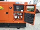 Quanchai Dieselenergie Gensets, das mit lärmarmem Haus schalldicht ist, verwendete