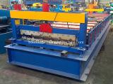 Rodillo de acero 1000 de la hoja del panel del material para techos del metal de la estructura de edificio que forma haciendo la máquina