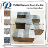 Basalto mergulhado do Sandstone do mármore do granito da estaca do segmento do diamante de Arix do sanduíche
