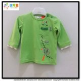 Magliette appena nate del neonato del manicotto dell'indumento lungo del bambino