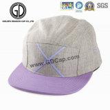 大きい帽子の革ロゴの調節可能なペーズリーの急な回復のキャンピングカーの帽子