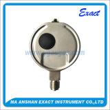Todos os medidores de pressão de aço inoxidável-manômetro de pressão hidráulica de pressão-vácuo