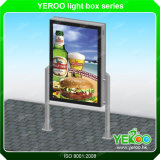 Suporte de chão Shopping Mupis publicidade com luzes LED