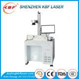 50W de Laser die van de Vezel van de Stijl van de lijst Machine voor Metalen merken
