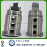 Piezas molidas CNC de la precisión del metal para los componentes no estándar