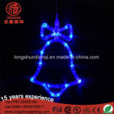Nuova decorazione di natale dell'indicatore luminoso della stringa del collegare LED del bottaio di Cervo-Figura di arrivo