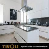マットの終わりおよびBenchtop Overhnag Tivo-0279hの台所デザインにラッカーを塗る高品質