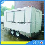 Camion mobile de nourriture de cuisine de qualité de Yieson