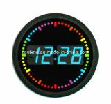 熱いデザインのLEDの柱時計