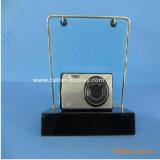 Cadre clair acrylique Btr-C7001 d'appareil-photo de couverture d'appareil-photo