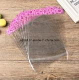 Customzied transparente BOPP Dom plástico bag com bloco de Cabeça / LDPE rectângulo transparente Violoncelo Saco com Self-Adhesive Clara