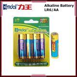 Bateria alcalina Lr6 do AA