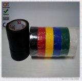 De super Glanzende Zwarte Brand van de Kleur - het Rubber van de vertrager Meer Zelfklevende ElektroBand van pvc Stickness