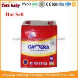 Marca da câmera PE Backsheet PP Tape Baby Diaper