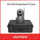GPS HD van WiFi van het toezicht 4G de Draagbare Camera van het Netwerk PTZ IP