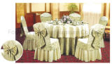Tejido de poliéster de alta calidad de banquetes del hotel Mantel