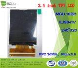 """2,4"""" QVGA (240X320 MCU 18bit 36Контакт TFT с высокой яркостью"""