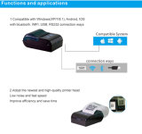 2inch Bluetooth Thermal Label Printer Support Android / Ios / Windows