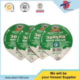Papier d'aluminium de soudure à chaud pour le yaourt