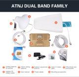Venda dual 1800/2100MHz 2g, 3G, amplificador del repetidor del aumentador de presión de la señal del teléfono de la llamada 4G