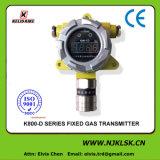 Transmisor fijo del gas del O2 0-30%Vol de la prevención contenta en línea del monitor O2 de la zona de trabajo