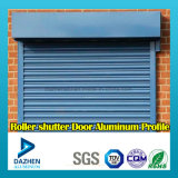 Profil en aluminium d'extrusion d'alliage de la porte 6063 d'obturateur de rouleau avec la poudre anodisée enduite
