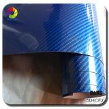 Tsautop heißes verkaufen1.52*20m Luftblase-frei SelbstAdehesive 5D Kohlenstoff-Faser Belüftung-Auto, das Auto-Verpackungs-Vinyl für Auto-Karosserie einwickelt