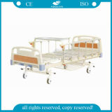 2 Kurbeln manuell über Bett-Tisch-mechanischem Bett (AG-BMS110)
