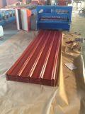Hoja de acero acanalada prepintada del azulejo de material para techos/del material para techos del trapezoide