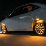 Luces LED coche rueda intermitente la luz de la atmósfera de la luz de neumáticos