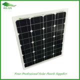 高性能の太陽電池パネルモノラル50W